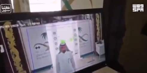 فيديو.. صحة نجران تنْصب وحدات للتعقيم الذاتي وتضع كاميرات حرارية