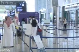 شاهد.. مطار الملك خالد يستأنف الرحلات الداخلية - المواطن
