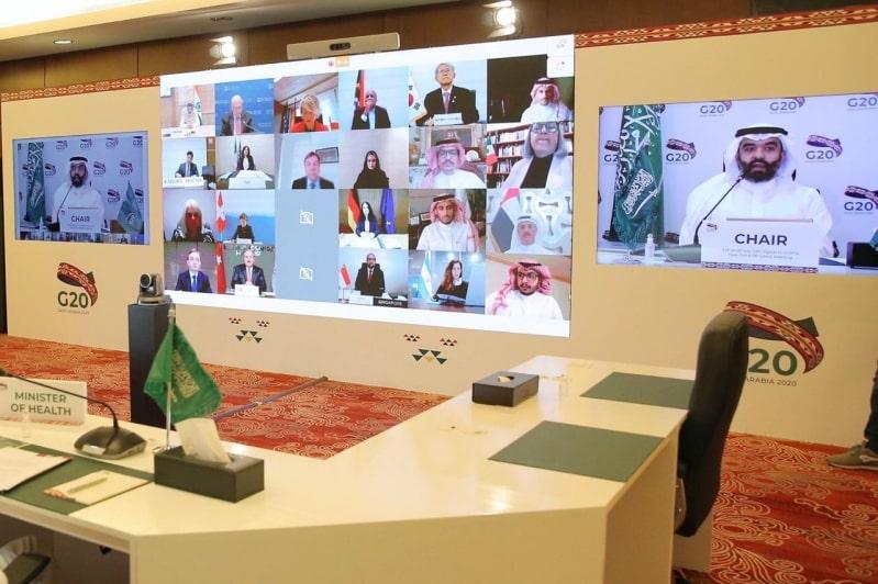 مجموعة العشرين تتعهد بتطوير التقنيات الرقمية الصحية لمواجهة كورونا