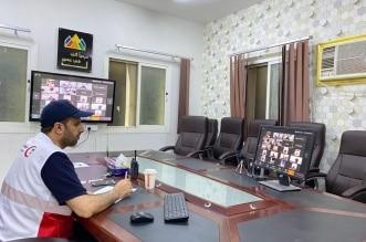 مدير هلال عسير يجتمع عن بعد بمديري المراكز الإسعافية - المواطن