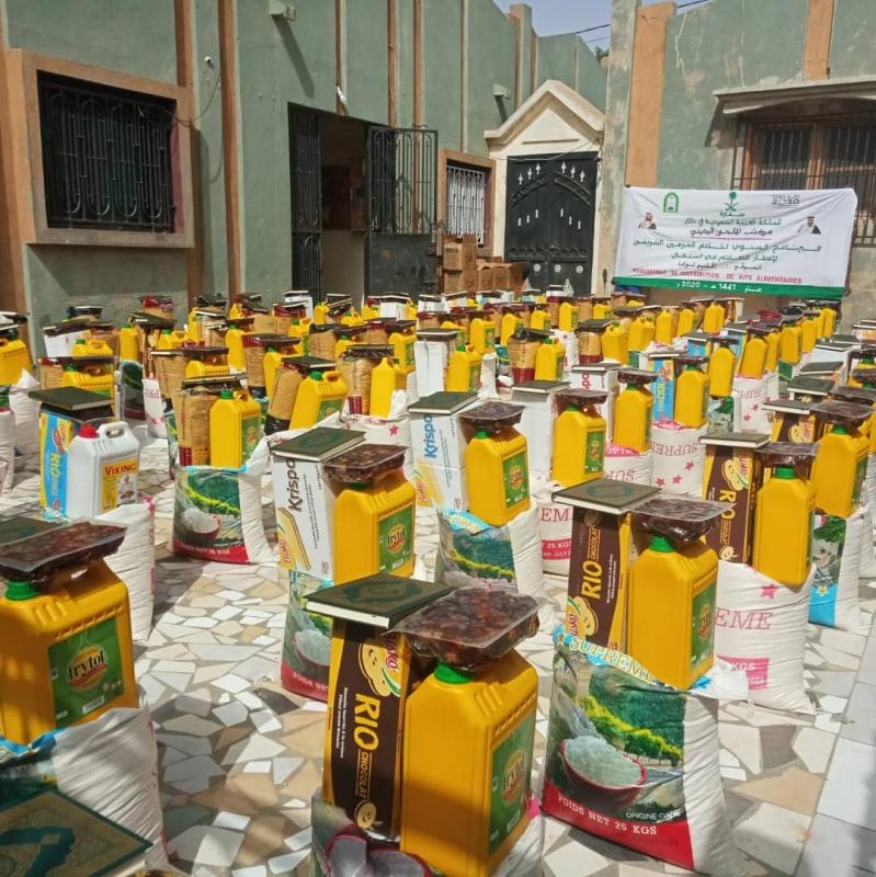 الملحقية الدينية بالسنغال توزع 1000 سلة غذائية في لوغا