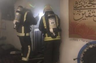 إخلاء 10 أشخاص في حريق منزل بالباحة - المواطن