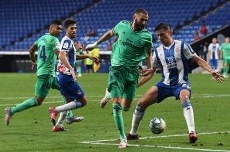 مباراة اسبانيول ضد ريال مدريد