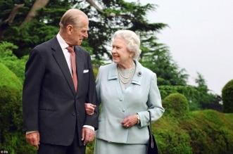 الأمير فيليب والملكة اليزابيث