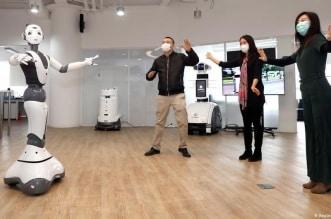 الروبوتات