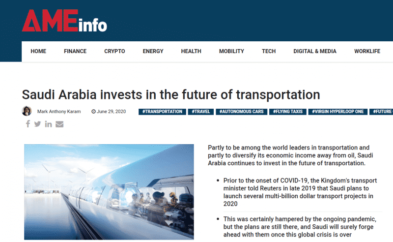 السعودية بين قادة العالم في مجال النقل (2)