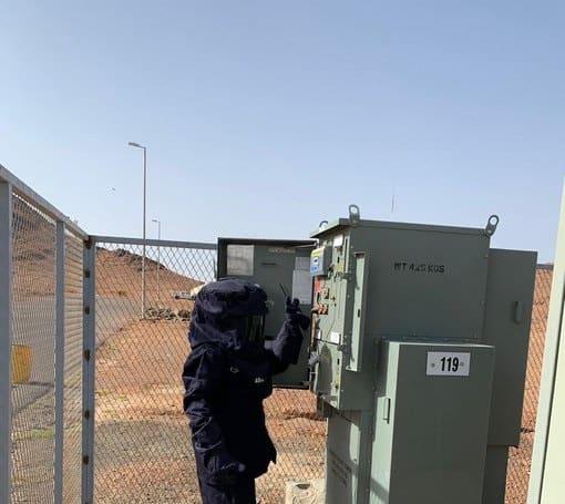 الكهرباء تعتذر عن انقطاع التيار في فرسان