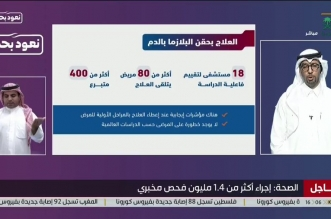 الهاشمي: لا توجد خطورة من حقن البلازما على مرضى كورونا - المواطن