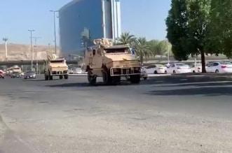 شاهد.. آليات الحرس الوطني تغادر مكة بعد رفع منع التجول - المواطن