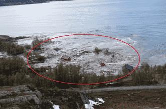 فيديو مخيف.. البحر يبتلع قرية بسكانها في شمال النرويج - المواطن