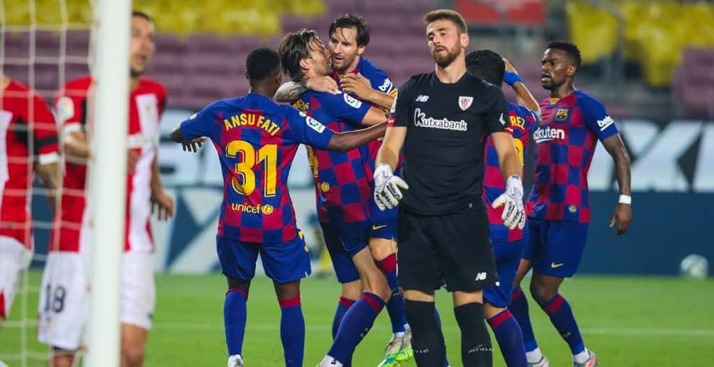 موعد مباراة أتلتيك بيلباو ضد برشلونة
