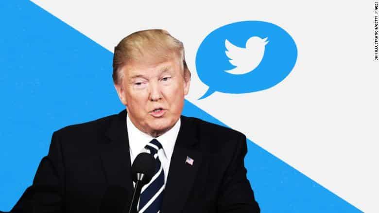 تويتر يحذف فيديو لترامب والرئيس يرد