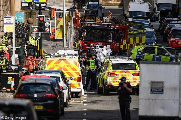 حادث طعن في فندق بريمير إن في مدينة غالاكسو البريطانية (2)