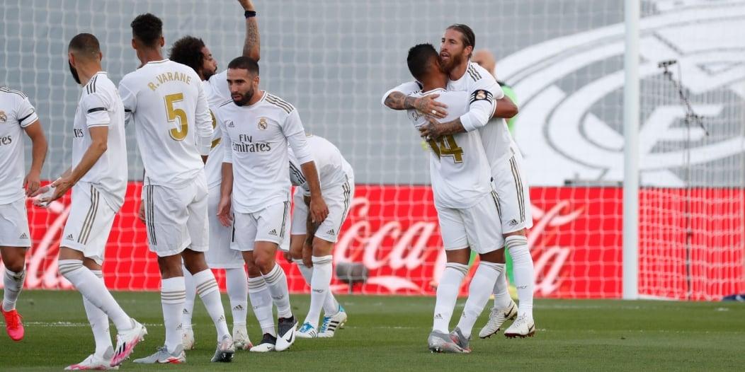 ريال مدريد يُسجل عودته لليغا بثلاثية ضد إيبار