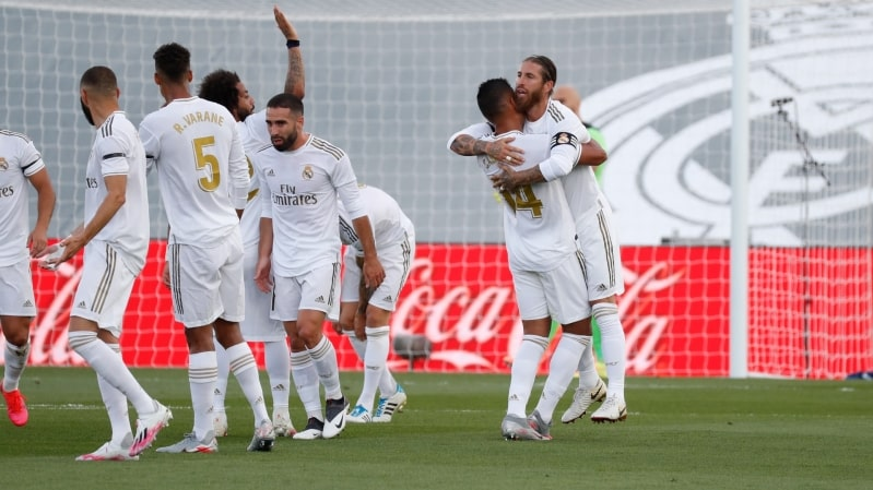 ريال مدريد ضد إيبار