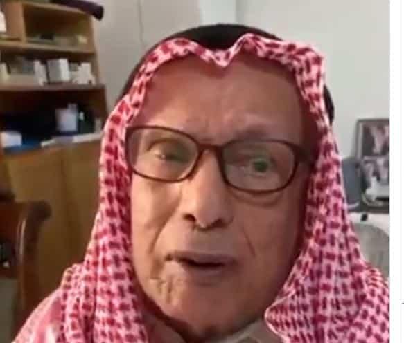 فيديو.. صالح العجيري يكمل 100 عام: عناية الله ترعاكم