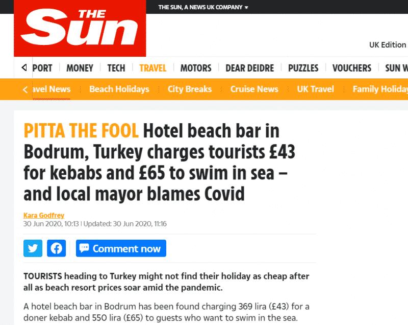 صدمة للسياح البريطانيين من الأسعار الفلكية في تركيا (3)