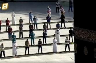 فيديو.. صلاة الكسوف في الحرم المكي وسط إجراءات احترازية مشددة - المواطن