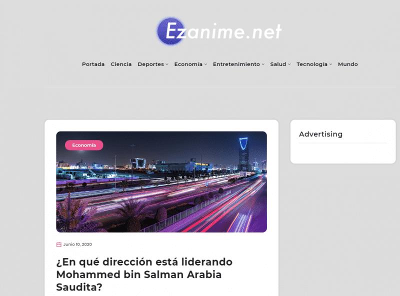 صورة من صحيفة Ezanime الإسبانية