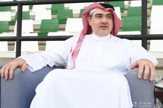 رئيس النادي الاهلي عبدالإله مؤمنة