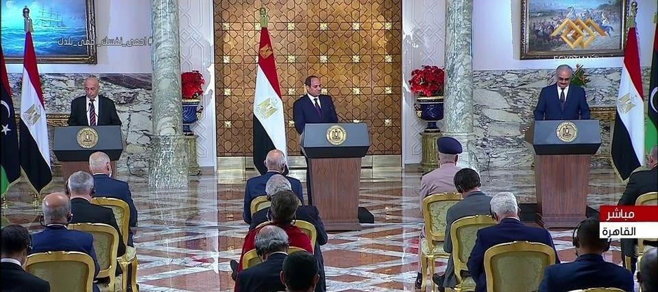 بعد لقاء عقيلة صالح وحفتر في القاهرة .. مبادرة ليبية لإنهاء الأزمة