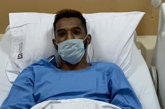 فراس البريكان بعد الجراحة