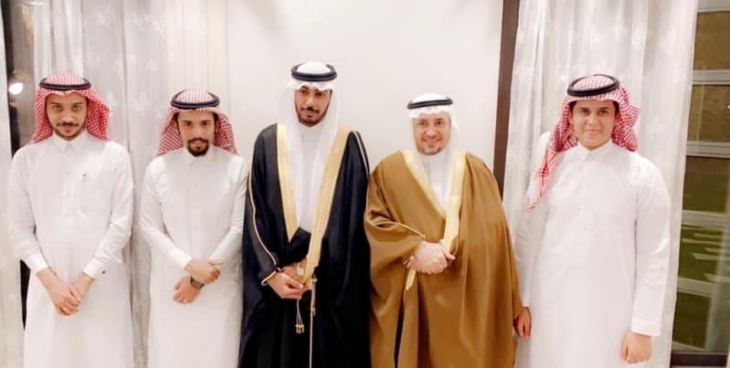 عائلة الفقيهي تحتفل بزواج ابنها فيصل في الرياض