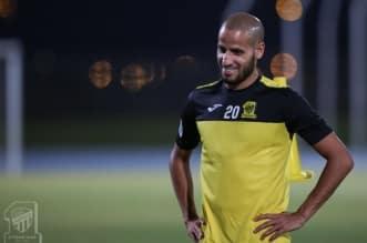 الأحمدي مع نادي الاتحاد