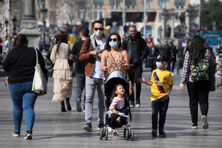 ارتفاع حالات الإصابة بـ كورونا في إسبانيا لـ 243 ألف حالة