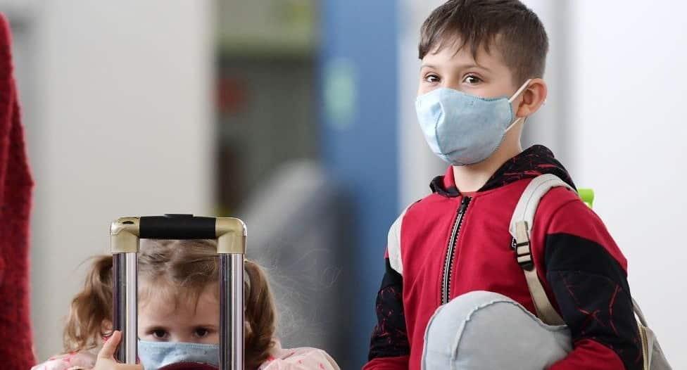 أعراض إصابة الأطفال بـ كورونا