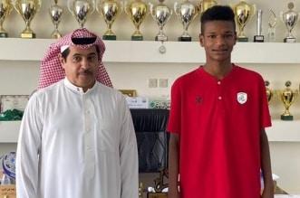 لاعب الشباب الجديد أمجد علي