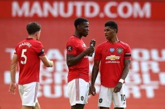 مانشستر يونايتد قبل كأس الاتحاد الانجليزي