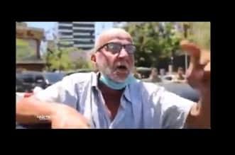 مشهد مؤثر.. غافله الراكب وهرب فظهرت رجولة المتظاهرين اللبنانيين - المواطن