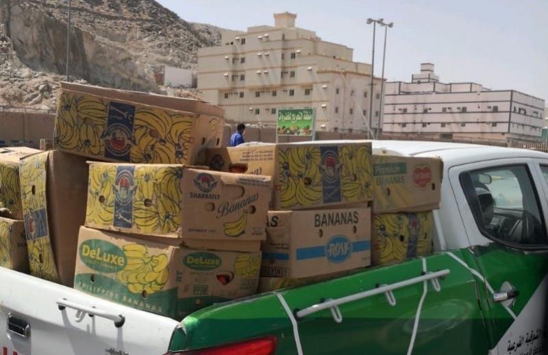 مصادرة 817 كجم من الخضروات والفواكه في المدينة المنورة 3