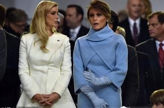 ميلانيا وإيفانكا ترامب