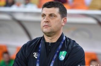 مدرب النادي الأهلي فلادان ميلويفيتش