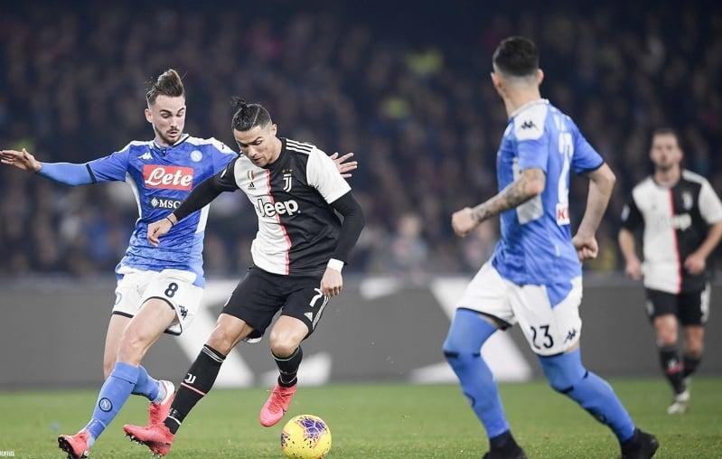 نابولي ضد يوفنتوس .. التشكيل المتوقع لنهائي كأس إيطاليا