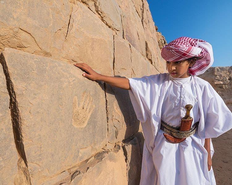 نجران أكبر متحف مفتوح للنقوش الأثرية الصخرية في العالم