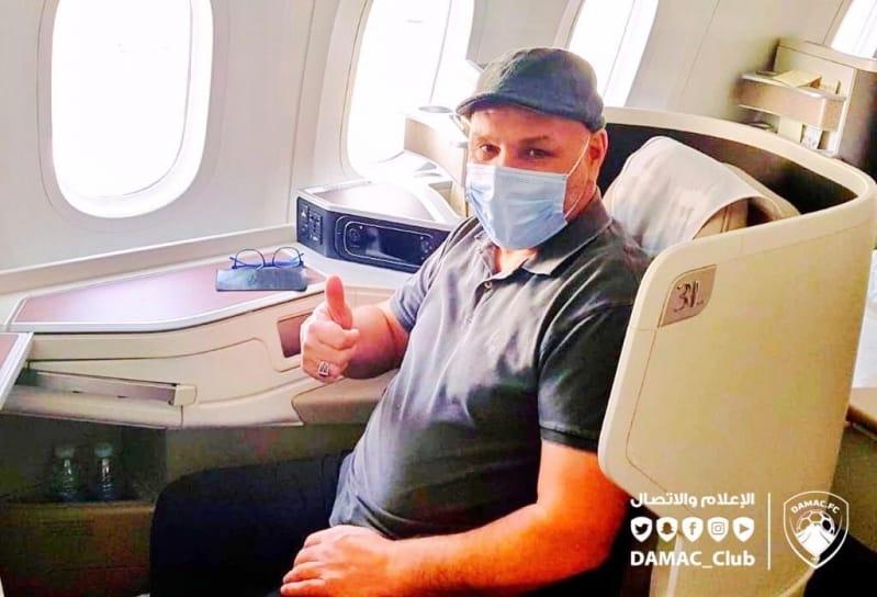 نور الدين بن زكري يُغادر السعودية