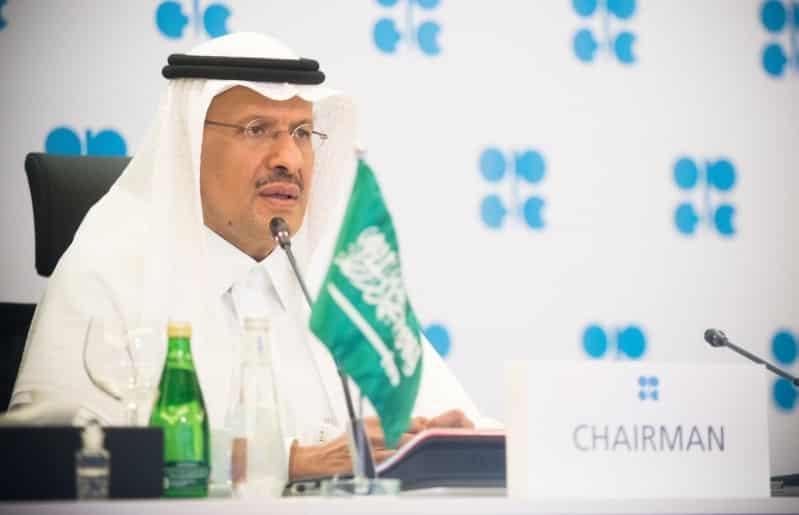 بحضور الأمير عبدالعزيز بن سلمان.. أوبك + يبحث خفض إنتاج النفط