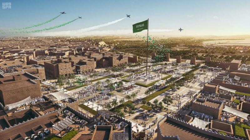 بدء تنفيذ المرحلة الأولى من أكبر مشروع تراثي وثقافي في العالم لتطوير الدرعية التاريخية