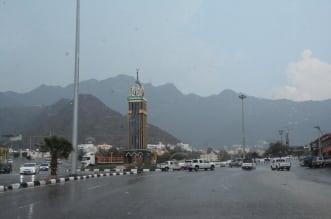 أمطار غزيرة على رجال ألمع ومحايل - المواطن