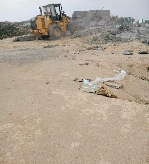 صور.. استعادة 3000 م2 من أراضي الدولة في بلقرن