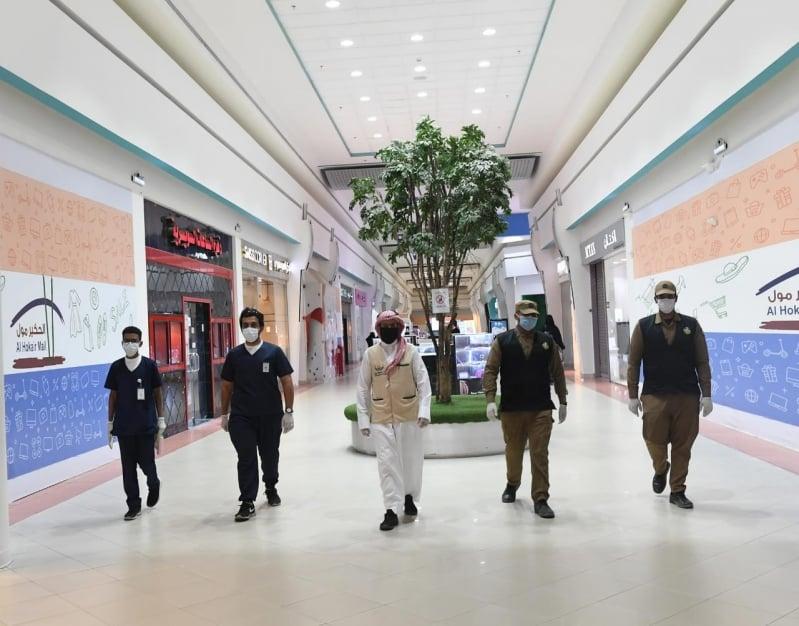 جولات رقابية مكثفة بين أمانة تبوك والجهات الأمنية لمواجهة كورونا