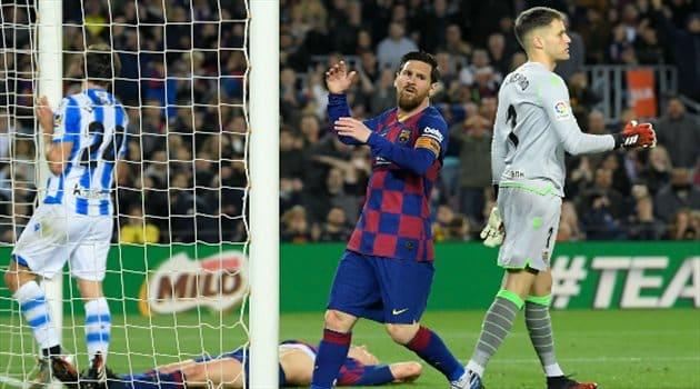 أولهم ميسي .. برشلونة يختار الإبقاء على 4 لاعبين
