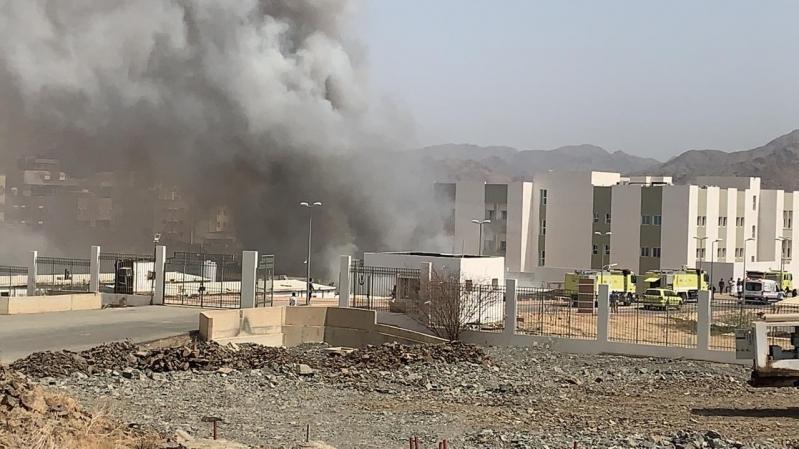 صحة الباحة تكشف تفاصيل حريق مستشفى المخواة الجديد