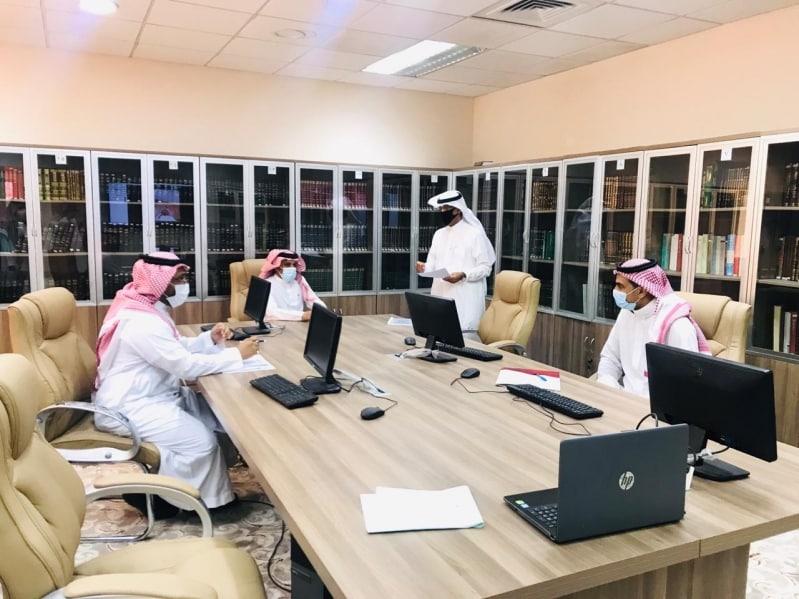 المقابلات الشخصية للمرشحين على الترقيات بإمارة الباحة عن بُعد - المواطن