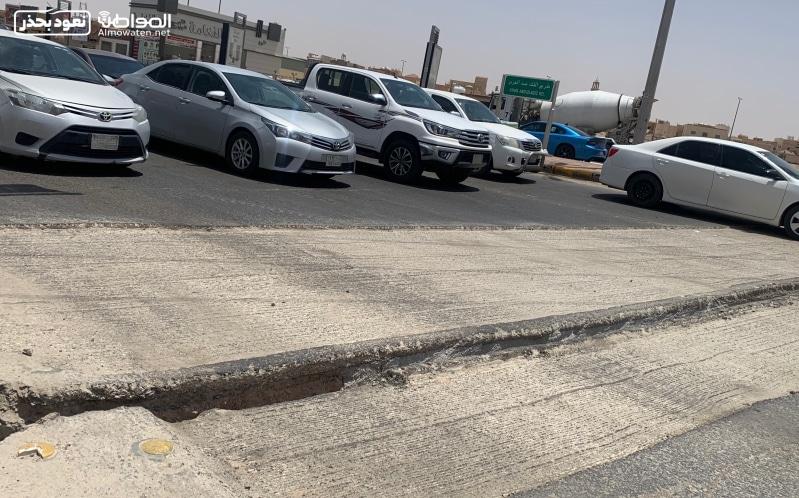بالفيديو.. حفريات ساهر تعرقل حركة السير في حفر الباطن