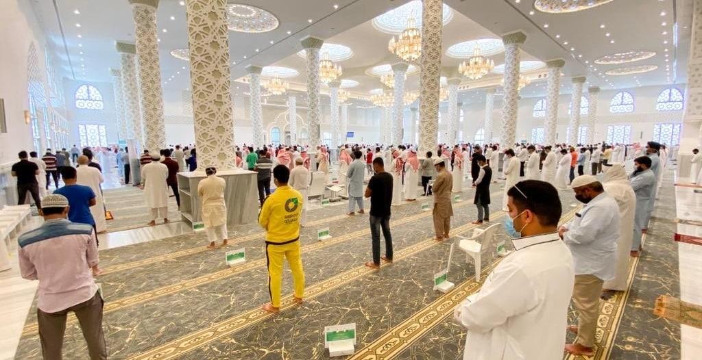 72 مسجداً مسانداً لإقامة صلاة الجمعة في حفر الباطن