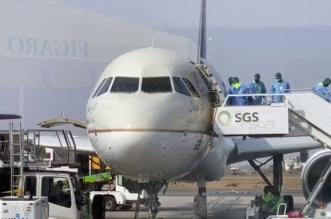 شاهد.. تعقيم الطائرات بمطار جازان قبل صعود الركاب - المواطن